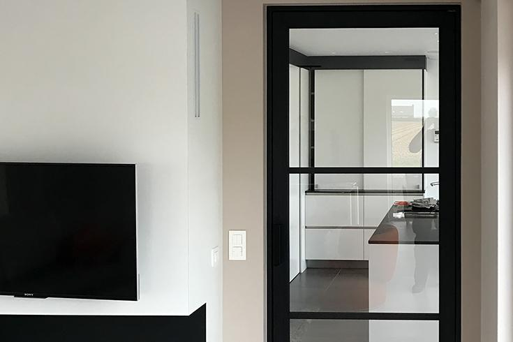 Aluminium binnendeuren deurenspecialist simon maree