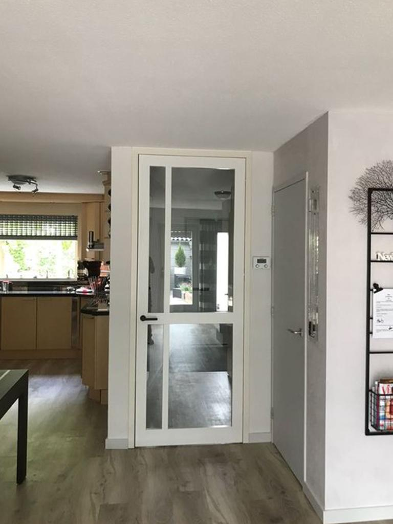Fonkelnieuw Projecten: Houten binnendeuren met glas GY-21